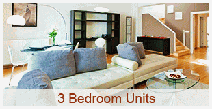 Find 19 three bedroom apartment rentals fully furnished and equipped