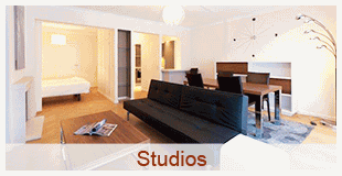 Find 27 studios fully furnished and equipped
